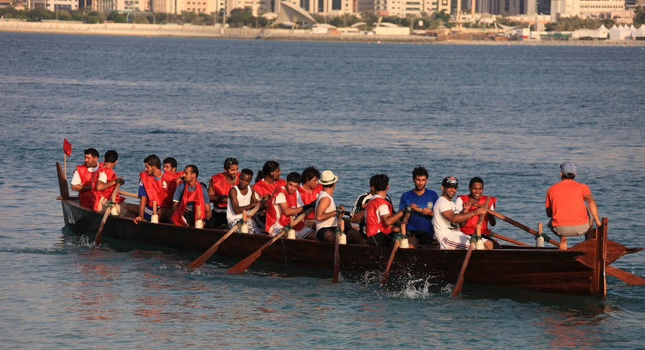 UAE Dragon Boat strategy and technique race