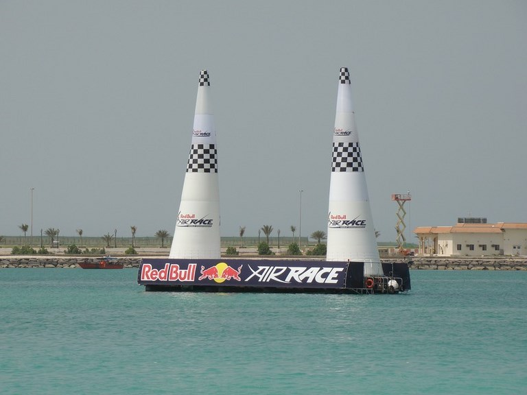 Red Bull Air Race photogaphie des pylones
