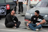 Interview pilot Ahmed Al Ameri Abu Dhabi Red Bull car park drift driver