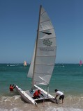 Bluescope race hobie cat board water sports Anse Vata Noumea New Caledonia