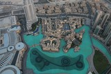Burj Khalifa's observation deck level 124 world's tallest tower United Arab Emirats high point on fountain