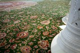 Sheikh Zayed Grand Mosque carpet in the main prayer hall by Iranian artist Ali Khaliqi