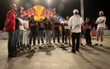 Abdo Feghali the legend of Drift Race Briefing Red Bull Car Park Middle East