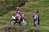 Motocross motorcycle racing Men rider South Island New Zealand