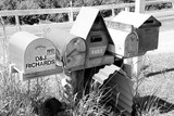 Post Office letterboxes mailbox New Zealand South Island