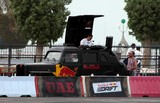 Red Bull mobile music car DJ motorsport race car drink energy song drift car park Abu Dhabi