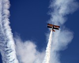 plane in the blue sky of abu dhabi Al Ain air show picture spotter pictures