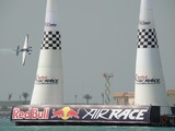 RED BULL AIR RACE 2010 Abu Dhabi UAE air gate international air race rio corniche road slalom course pylon Zivko Edge 540 MXS-R Lycoming engine